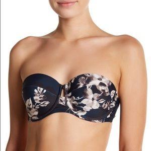 NWOTs RACHEL ROY • Floral Underwire Bikini Bandeau